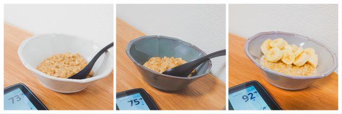 第3章血糖値の上がり方比較オートミールイメージ画像