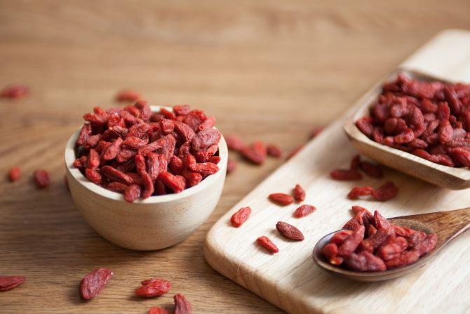 第2章クコの実の栄養成分クコの実乾燥イメージ画像